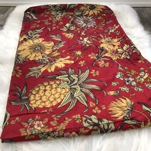Pottery Barn Bedding - Pottery Barn Twin Duvet Cover Floral Corday